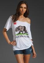 Rebel Yell California Short Sleeve Boyfriend Tee