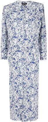 Isabel Marant Abstract-Print Maxi Dress