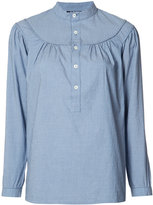 A.P.C. flared blouse - women - Cotton - 36