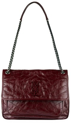 Saint Laurent Large Niki Matelasse Shoulder Bag