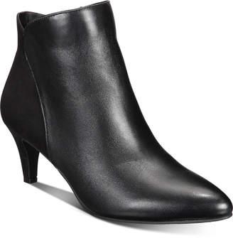Alfani Women Harpper Kitten-Heel Booties, Women Shoes