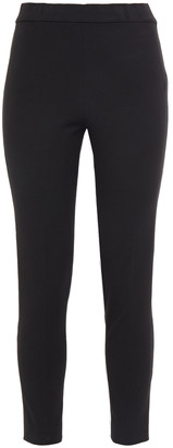 Kate Spade Cropped Stretch-twill Skinny Pants