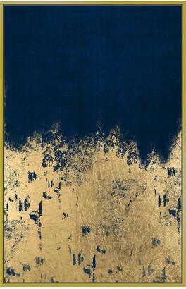 Jonathan Bass Studio Waves Of Gold Gold Leaf