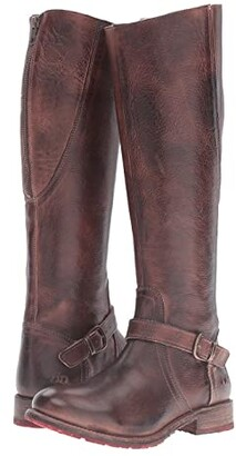 Bed Stu Glaye (Teak Rustic Leather) Women's Boots