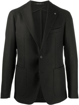 Tagliatore Virgin Wool-Mix Blazer