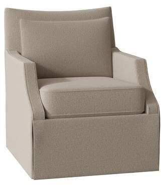 Fairfield Chair Holly Armchair Fairfield Chair Body Fabric: 3160 Platinum, Leg Color: Walnut