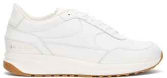 Common Projects Track Classic Leather Trainers - Mens - White Multi