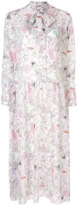 Olivia Rubin floral print dress