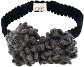 Caffe' D'orzo metallic knit headband