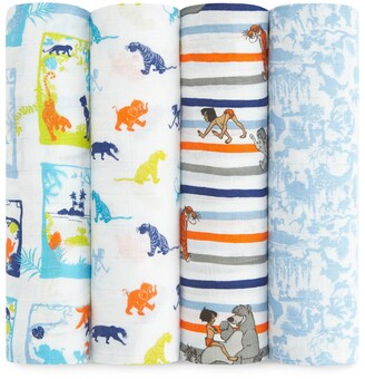 Aden Anais Set of 4 Disney Swaddles