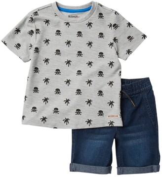 Hudson Printed French Terry 2-Piece Set