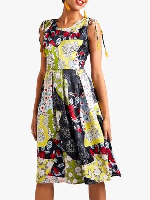 Yumi Floral Skater Dress, Multi