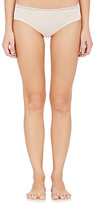 Hanro WOMEN'S LACE-TRIMMED MARION HIGH-CUT BRIEF