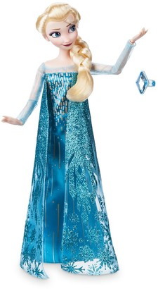 Disney Elsa Classic Doll with Ring Frozen 11 1/2''