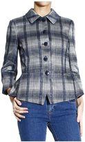 Emporio Armani Blazer Jacket Macro Tartan