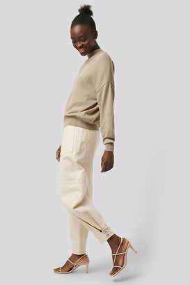 NA-KD Organic Patch Pocket Cocoon Jeans
