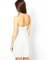Rare Ruffle Bandeau Dress