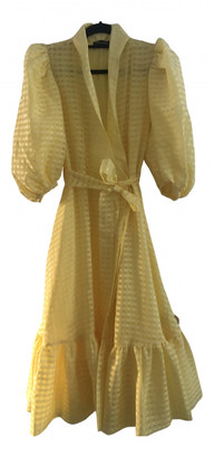 Stine Goya Yellow Polyester Dresses