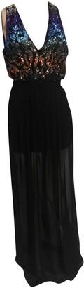 Mangano Black Glitter Dress for Women