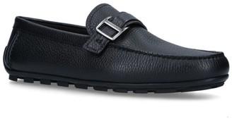 Ermenegildo Zegna Leather Highway Driving Shoes