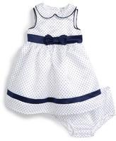 Little Me Infant Girl's Pin Dot Sleeveless Dress