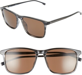 BOSS 56mm Square Sunglasses