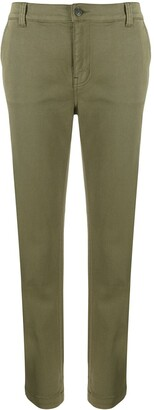 Current/Elliott Tapered Leg Cropped Trousers