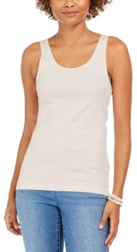 Style&Co. Style & Co Petite Cotton Tank Top, Created for Macy's