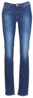 Lee MARION STRAIGHT women's Jeans in Blue