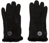 UGG Shearling-Lined Suede Gloves