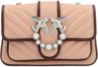 Pinko Baby Love Soft Crossbody Bag