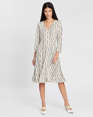 Banana Republic Matte Jersey Wrap Dress