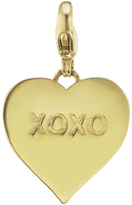 XOXO Heart Charm by Nancy Newberg