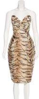 Zimmermann Tamer Tiger Print Dress w/ Tags