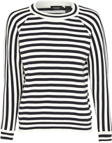Oxford Kaitlin Striped Knit Nvy/Wht X