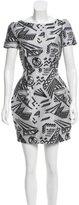 Genny Patterned Mini Dress w/ Tags