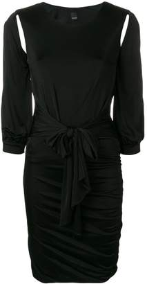 Pinko cut-detail fitted dress