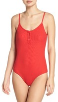Tavik Women's Lila Ribbed One-Piece Swimsuit
