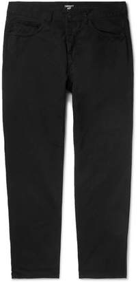 Carhartt Wip Newel Tapered Cotton-Drill Trousers