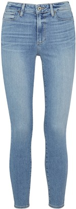 Paige Hoxton Ankle light blue skinny jeans