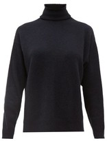 Officine Generale Alma Roll-neck Cashmere Sweater - Womens - Navy