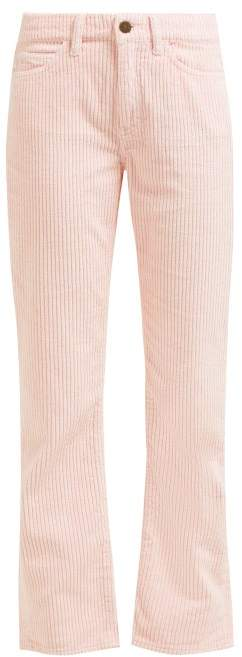 MiH Jeans Daily High Rise Corduroy Trousers - Womens - Pink
