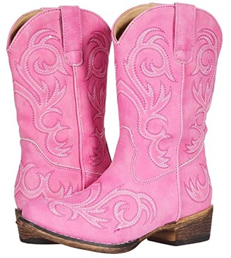 Roper Riley (Toddler/Little Kid) (Pink) Cowboy Boots