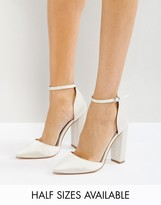 Asos Penalty Bridal Pointed High Heels