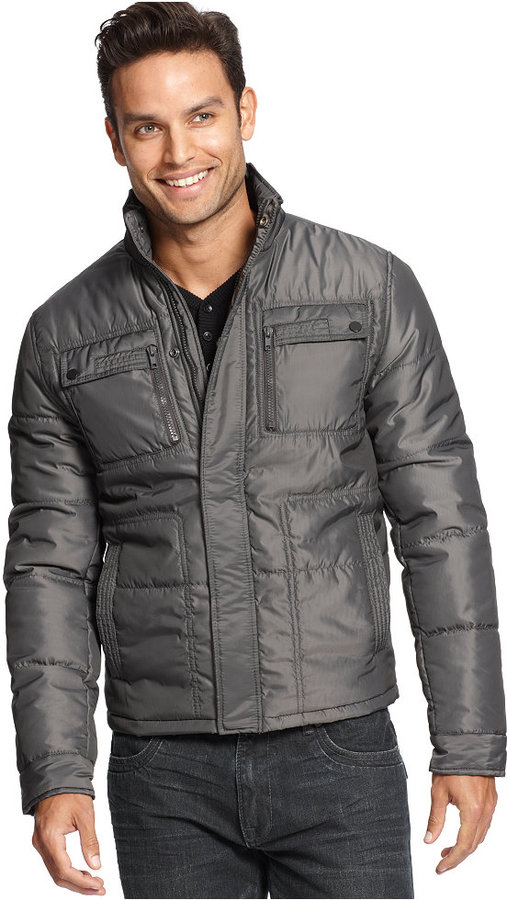INC International Concepts Jacket, Online Exclusive Neil Zip Front Jacket