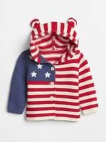 Gap Stars & Stripes Garter Sweater