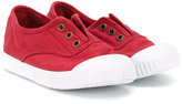 Victoria Kids - slip-on sneakers - kids - Cotton/Canvas/rubber - 21