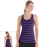 Champion Women's Vapor Striped Racerback Workout Tank