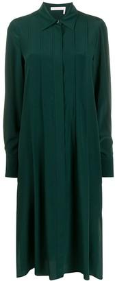 See by Chloe shirt midi dress