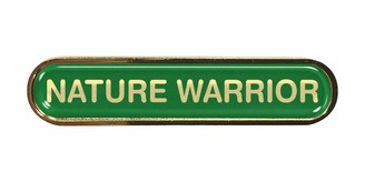 Capricornone Nature Warrior Green School Bar Badge